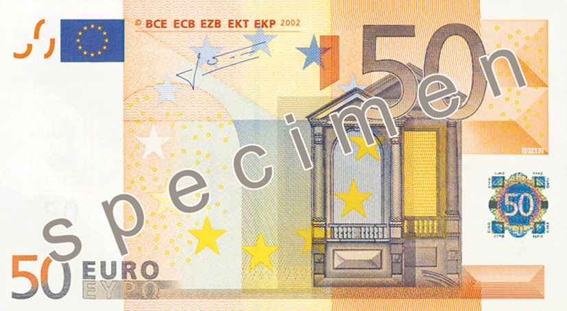 Fifty Euro Note